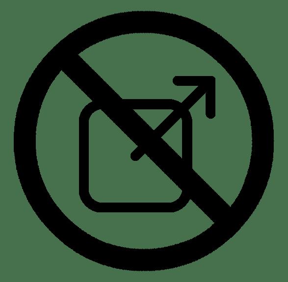Non-partage des données