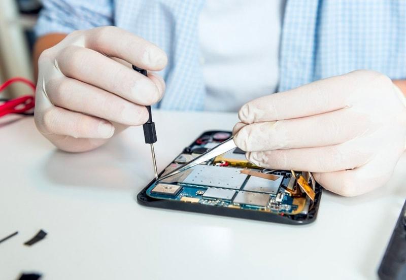 Réparation de tablette