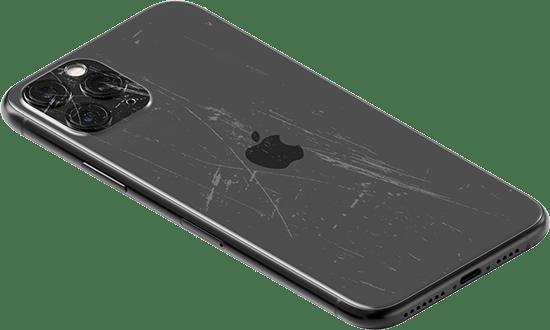 iPhone rayures